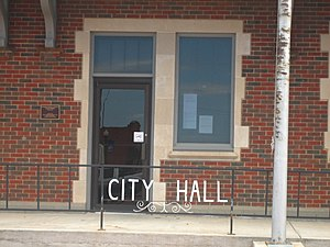 National Register of Historic Places listings in Carson County, Texas - Image: Panhandle, Texas, City Hall IMG 0646