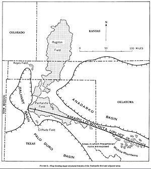Hugoton Gas Field - Image: Panhandle Field 1