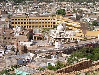 Hasan Abdal City in Punjab, Pakistan