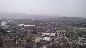 Čapljina - Image: Panorama Čapljine 112522