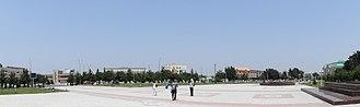 2005 Andijan Unrest - Bobur Square, the location of the events
