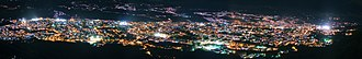 San Cristóbal, Táchira - Night panorama of the city