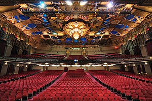 Pantages Theatre (Hollywood) - The interior of the theater