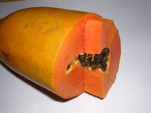 Papaya-oliv