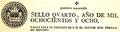 Paper segellat imprès a Talarn el 1808.png