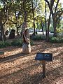"Papua New Guinea Sculpture Garden at Stanford University, ""The Thinker"" 2.jpg"
