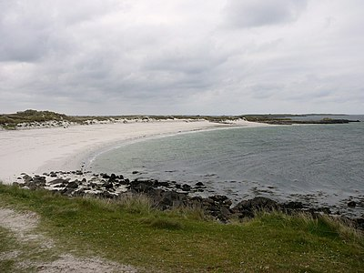 A paradise beach in Bretagne