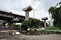 Parama-Park Circus Flyover Under Construction - John Burdon Sanderson Haldane Avenue - Kolkata 2012-07-31 0514.JPG