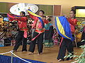 Parangal Dance Co. performing Kappa Malong Malong at 14th AF-AFC 02.JPG