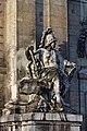 Paris - Les Invalides - Façade nord - Statue de Mars - PA00088714 - 001.jpg