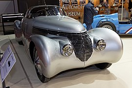 Paris - Retromobile 2012 - Hispano-Suiza type H6 C - 1938 - 006.jpg