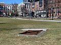Park Street station emergency exit on Boston Common, March 2015.JPG