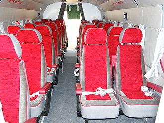 Mil Mi-8 - passenger cabin