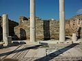 Pati amb mosaic de la casa de Dionís, Delos.JPG