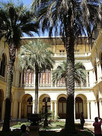 Patio de las Palmeras%2C Casa Rosada
