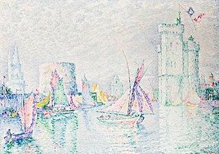 La Rochelle, Leaving the harbourg