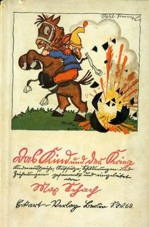 Kurrent - Image: Paul Simmel Das Kind und der Krieg,1916