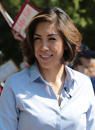 2018 Idaho gubernatorial election - Image: Paulette Jordan IF7a (cropped)
