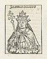 Paus Johannes VIII Johannes octavus (titel op object) Liber Chronicarum (serietitel), RP-P-2016-49-57-8.jpg