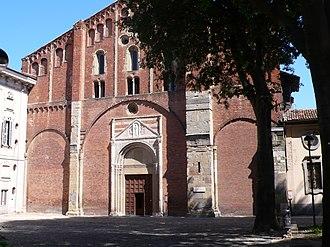 San Pietro in Ciel d'Oro - Image: Pavia San Pietro in Ciel d'Oro 1