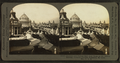 Pavilions and Festival Hall from the Dome of the German Building, from Robert N. Dennis collection of stereoscopic views.png