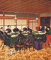 Peace Conference at Shimonoseki by Nagatochi Hideta (Meiji Memorial Picture Gallery).jpg