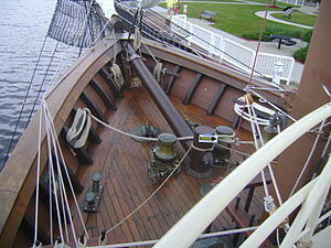 Peacemaker (ship) - Image: Peacemaker ship bow