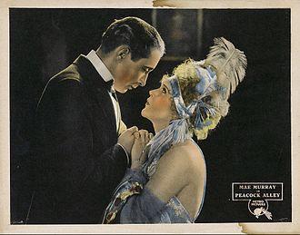 Peacock Alley (1922 film) - Lobby card