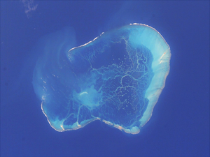 Pearl and Hermes Atoll - NASA picture of the Pearl and Hermes Atoll