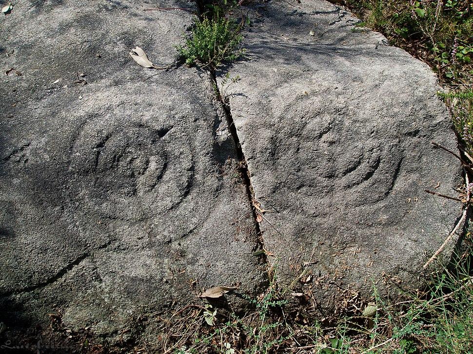 Pedra das Rodiñas, A Nogueira, O Viso, Redondela