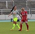 Peggy Nietgen und Mandy Islacker BL FCB gg. 1. FC Koeln Muenchen-1.jpg