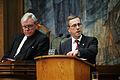 Pehr Lov (sd) Finland, talar vid Nordiska radets session i Kopenhamn 2006.jpg
