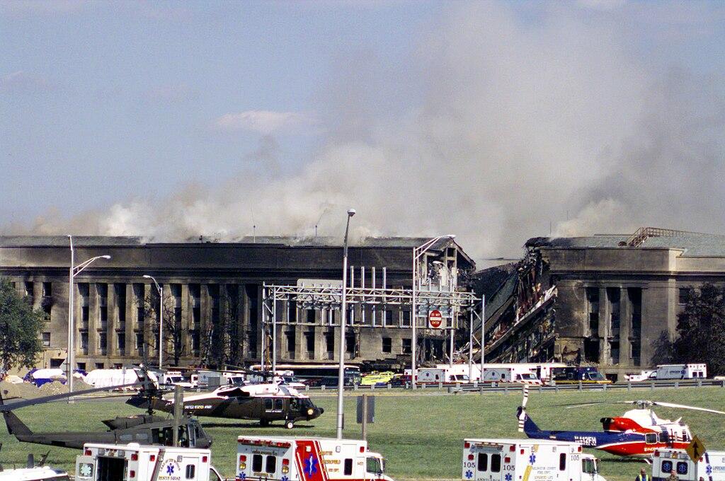 Terrorist Attacks Wikipedia: File:Pentagon On 9.11.jpg