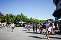 People Leaving NTU Sport Center in the End of FF24 20140727.jpg