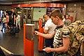 People at Déli pályaudvar metro station (2).jpg