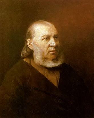 Sergey Aksakov - Portrait of Aksakov by Vasily Perov
