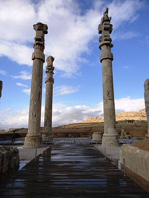 Persian column - Image: Persian column