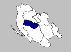 The Municipality of Perušić within Lika-Senj County.