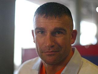 Peter Aerts Dutch kickboxer