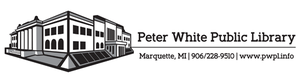 Peter White Public Library - Image: Peter White Logo