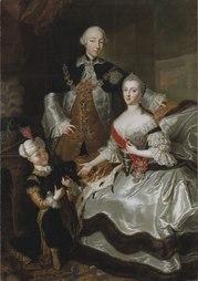 Peter III., Catherine II. And their son Paul