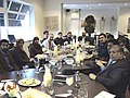 Peter Ricketts talks with young Muslim professionals in Birmingham (2122834646).jpg