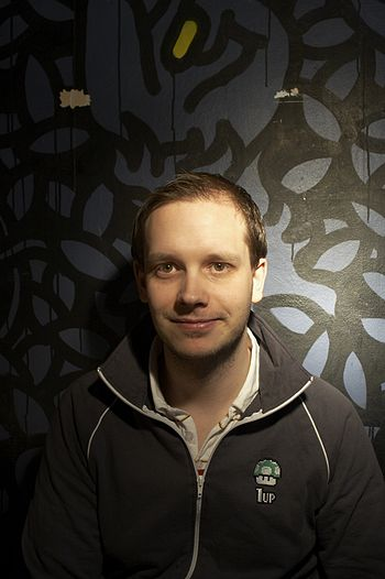 English: Promo shot of Peter Sunde during the ...