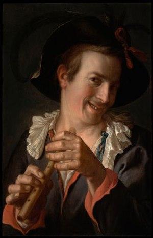 Peter Wtewael - Peter Wtewael, A Jester Holding a Flute, 1623