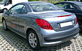 Peugeot 207 CC rear 20070611.jpg