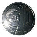 Philippines New Generation 1 peso coin obverse.png