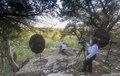 Photographer Carol M. Highsmith photographs former U.S. President George W. Bush and his wife, Laura Bush, on their ranch near Crawford, Texas LCCN2015630826.tif