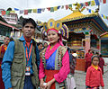 Photojournalist with Tibaten Girl at Tawang.jpg
