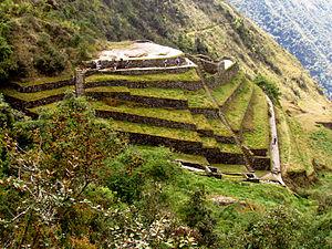 Puyupatamarca - Inca trail to Machu Picchu