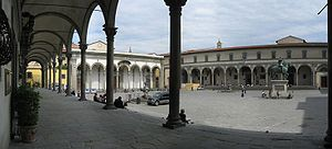 Piazza della Santissima Annunziata - Piazza della Santissima Annunziata